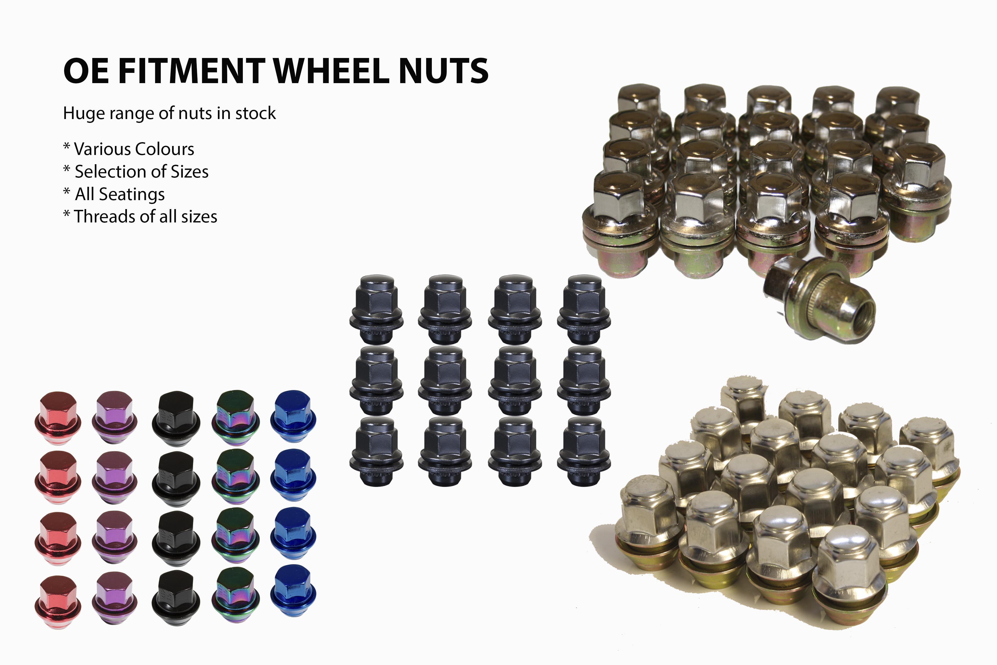 OE fit Wheel Nuts