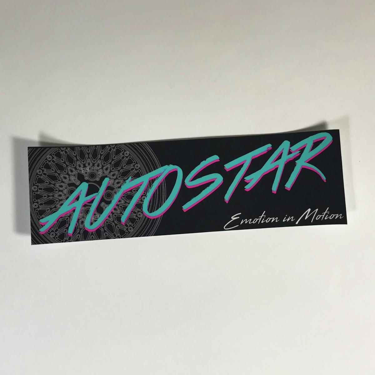 AutoStar Slap Sticker - 80's