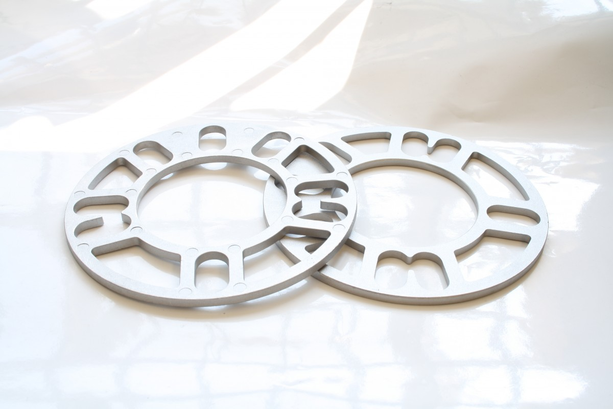 5mm Wheel Spacer Shims 4&5 Stud Spacer x2