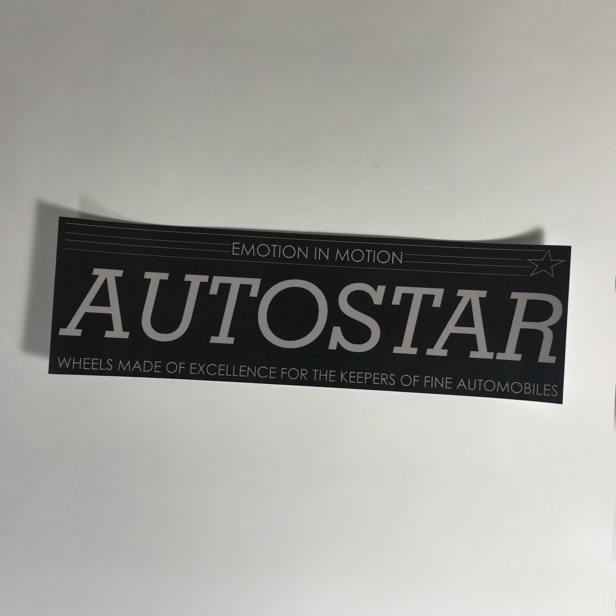 AutoStar Slap Sticker - JDM