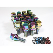 Coloured Wheel Bolts