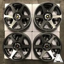 AutoStar Chaser 18x8.5 5x100 ET35 Matt Gunmetal - Set of 4