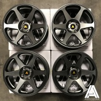 AutoStar Chaser 17x8 4x100 ET35 Matt Gunmetal - Set of 4