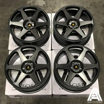 AutoStar Chaser 17x8 5x100 ET35 Matt Gunmetal - Set of 4