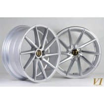 6Performance ESH Silver with Polished Face 19x8.5 5x112 ET45 - Set of 4