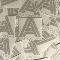 AutoStar Gold Sticker
