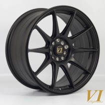 6Performance BDR 18x8.75 5x100 & 5x114.3 ET30 Flat Black