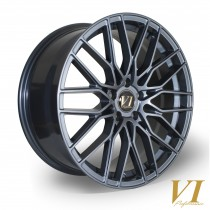 6Performance Munich 19x8.5 5x112 ET45 Gunmetal