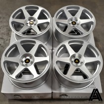 AutoStar Chaser 18x8.5 5x100 ET35 Silver - Set of 4 with Nankang Tyres