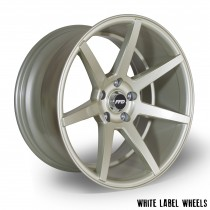 White Label Seven 18x9.75 ET35 5x114 Gold - Set of 4