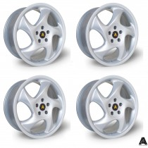 AutoStar Twist 18x8.0 5x112 ET45 Silver - Set of 4