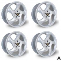 AutoStar Twist 17x7.5 5x100 ET35 Silver - Set of 4