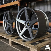 AutoStar Chicane 19x8.5 & 19x9.5 Staggered Set of 4 Wheels, 5x120 ET35 Matt Gunmetal