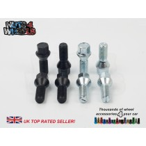17mm Hex 60° Tapered Wheel Bolts