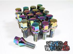 Coloured Wheel Bolts