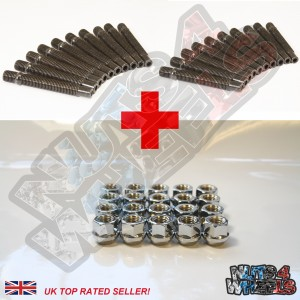 Stud Conversion Kit M12x1.25 (Open Nuts)