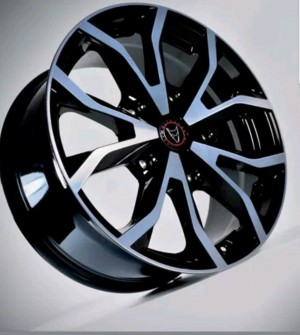 "set of 4 Wolfrace Assassin 18"" alloys 5x160 pcd - Transit fitment load rated"
